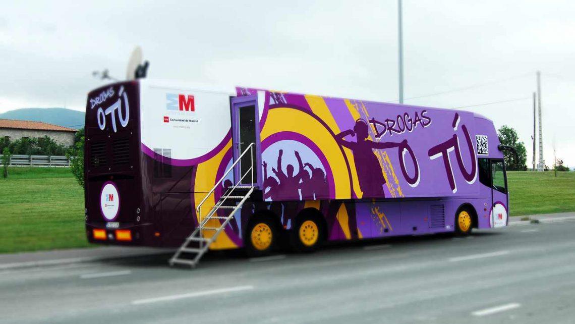 El autobús 'Drogas o tú' llega a Soto del Real