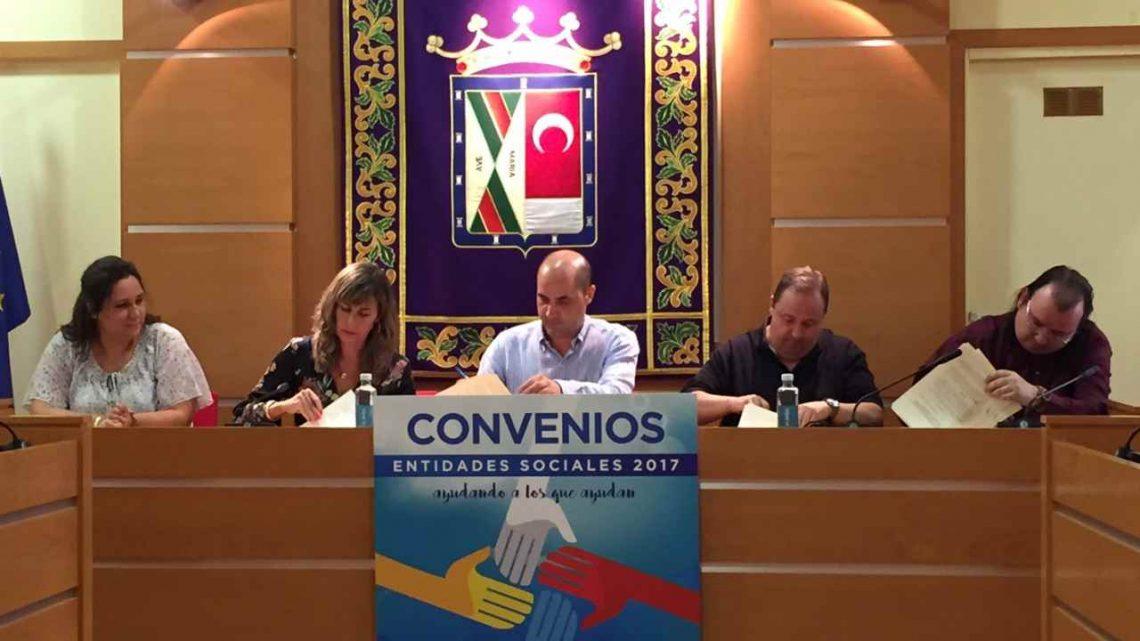 Firma de convenios en Colmenar Viejo