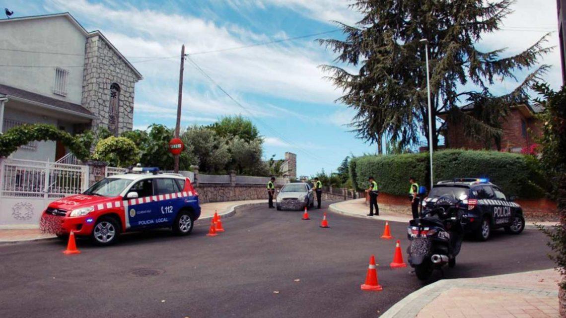 Campaña de vigilancia del uso del cinturón de seguridad en Colmenar Viejo