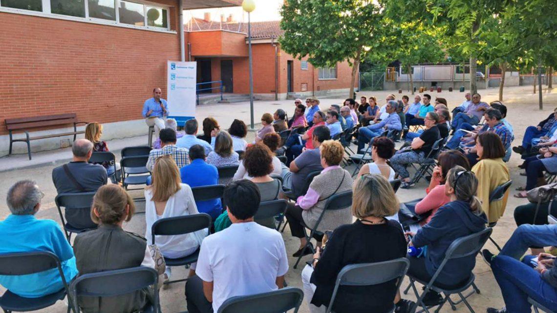 Vuelven los encuentros del 'Alcalde en tu barrio' en Colmenar Viejo